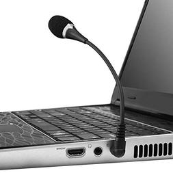3.5mm External Flexible Mini Microphone Mic Laptop Notebook