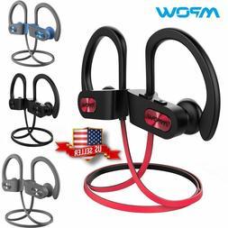 🎵🎧 Mpow Flame Bluetooth Headphones Waterproof IPX7 Wir