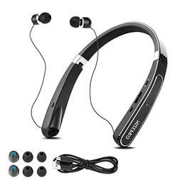 Foldable Wireless Headphones,Neckband Best Bluetooth Headpho