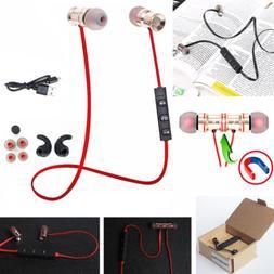 Gold HU53 In-Ear Wireless Sports Bluetooth Headphone Earbuds
