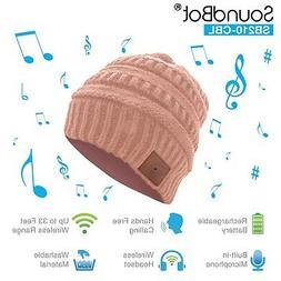 SoundBot HD Stereo Bluetooth 4.1 Wireless Musical Knit Headp