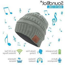 SoundBot HD Stereo Bluetooth Wireless Musical Knit Headphone
