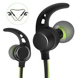 Headphones Bluetooth Wireless Sports Earphones Earbuds Magne