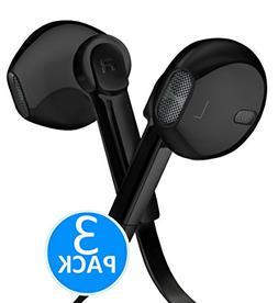 Headphones - In-Ear HD Stereo Noise Cancelling Sweatproof Sp