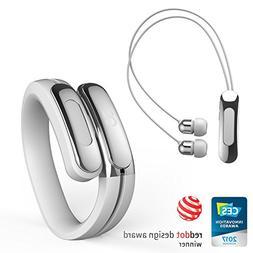 Helix Cuff: Wearable Wireless Headphones by Ashley Chloe. Bl