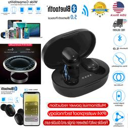 HiFi Dual Wireless Bluetooth Earphone Earbuds For Android IO