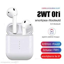 i10 TWS Wireless Earbuds Bluetooth5.0 Wireless Charging Touc