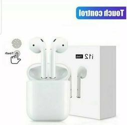 I12s TWS Wireless Earbuds Stereo Headset Bluetooth 5.0 Earph