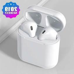 i500 TWS Wireless Charging Earbuds 6D Bass Voice Touch Contr