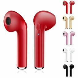 For iPhone 7 8 X Samsung Wireless Earphones Headphones Stere