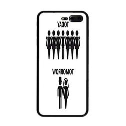 iPhone 7 Plus/iPhone 8 Plus Case, Today - Tomorrow TPU Prote