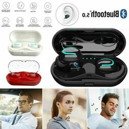 IPX7 Waterproof Touch Mini True Bluetooth 5.0 Earbuds Wirele