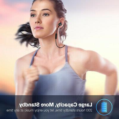 Sweatproof Wireless Sport Stereo Earphone Earbud
