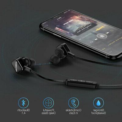 Sweatproof Wireless Stereo Earphone