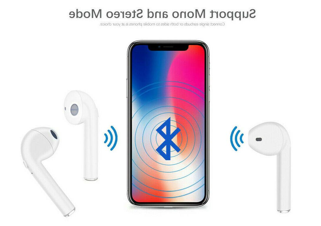 1Bluetooth iPhone Android Samsung Earpods
