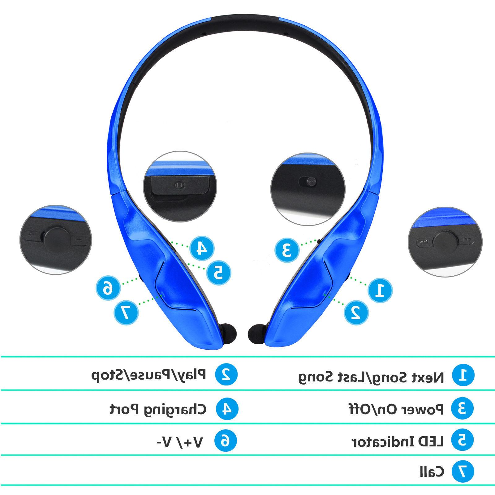 2018 Stereo Music Wireless Headset