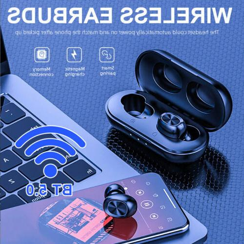 2019 TWS Wireless Earbuds Stereo Headphones