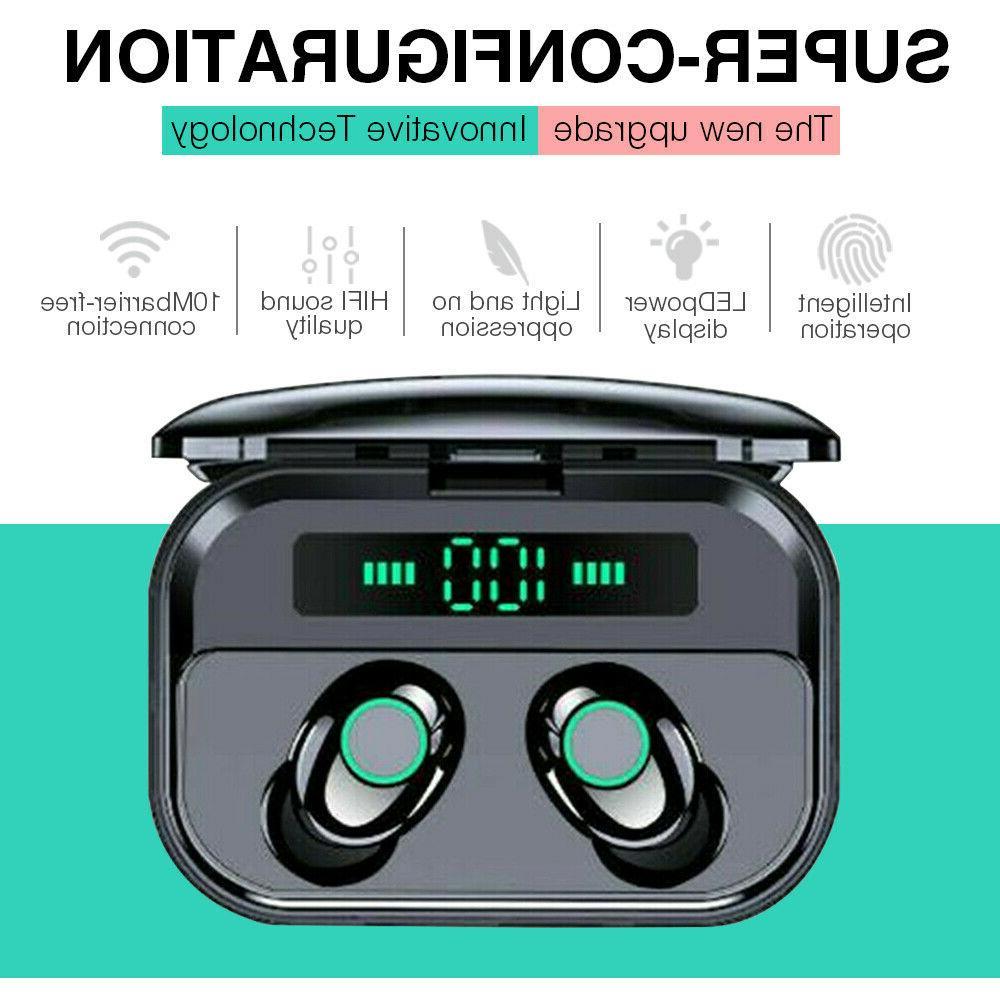 2019 tws bluetooth 5 0 earbuds headphones
