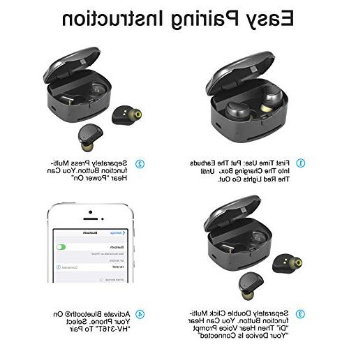 4af598bf7c9 Soundmoov 316T Mini Wireless Earbuds with Charging Box