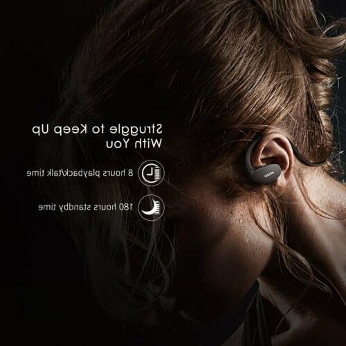 Mpow Bluetooth Wireless Headset Sport Earphone Earbuds Mic