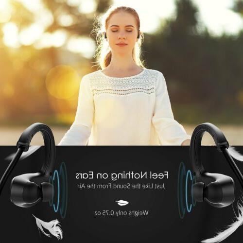 Mpow Wireless Headset Headphone Earphone Earbuds