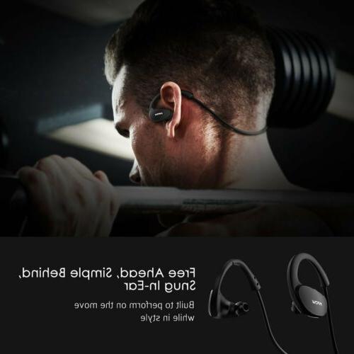 Mpow Headset Sport Headphone Stereo Earphone Mic