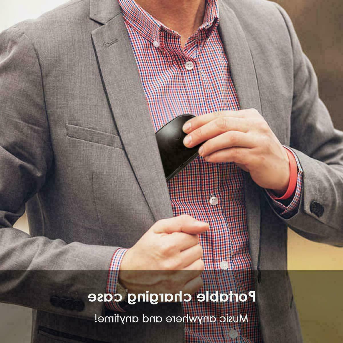 Wireless Earbuds Headphones Sweatproof with & Charging