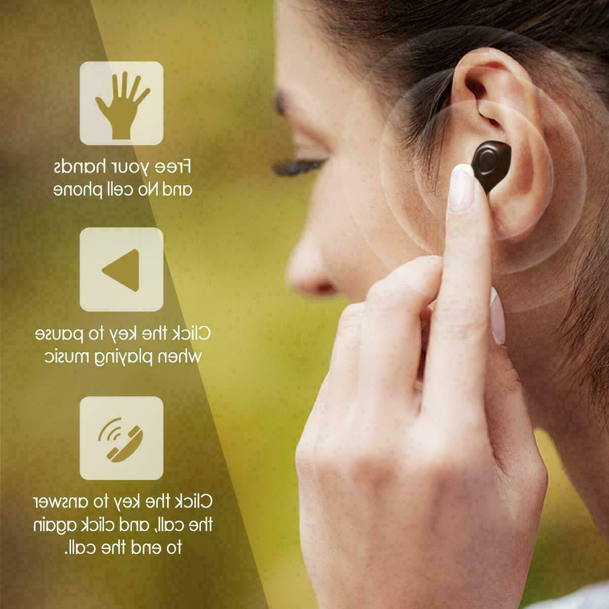 Wireless Headphones Sweatproof & Charging