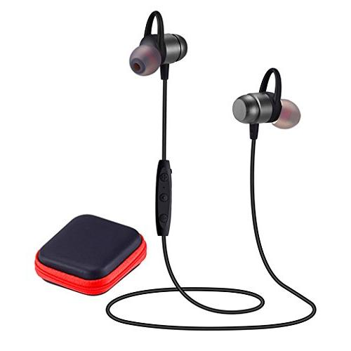 Bluetooth Headphones 4.2 Wireless Sports Earphones HD Stereo