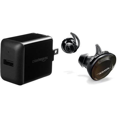 Bose SoundSport Free Truly Wireless Sport Headphones - Black