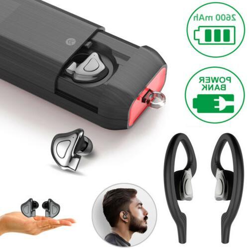 Mini Bluetooth 5.0 Earbuds Sport True Wireless Bass Twins St