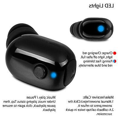 Bluetooth Wireless Stereo Earphone Sport Headphone