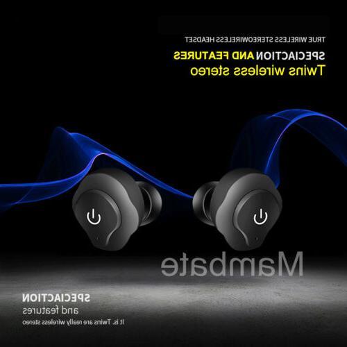 AGPtek Wireless Bluetooth Headset In-Ear Earbuds