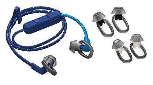 Plantronics Sweatproof Sport Headphones, Dark Blue/Blue