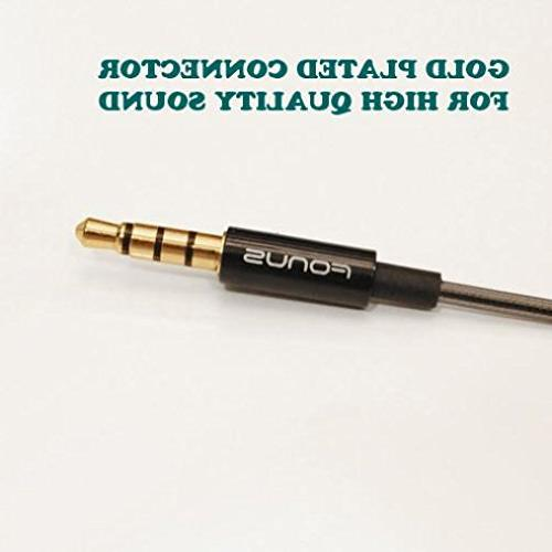 Superior Hi-Fi Sound Handsfree Metal Wired 3.5mm for Samsung NOOK 10.1, NOOK 8.0, S3