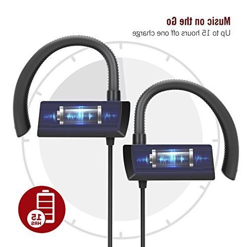 TaoTronics Bluetooth in Ear Earbuds, Earphones 360° Earhooks