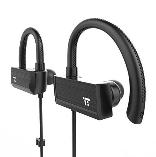 TaoTronics Bluetooth Headphones, Wireless in Ear Earbuds, Sp