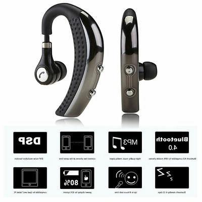 Wireless Headphone Cancelling Trucker Headset Earpiece For