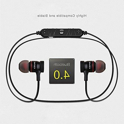 AWEI A920BL Bluetooth Wireless Exercise Noise Reduction Earbuds