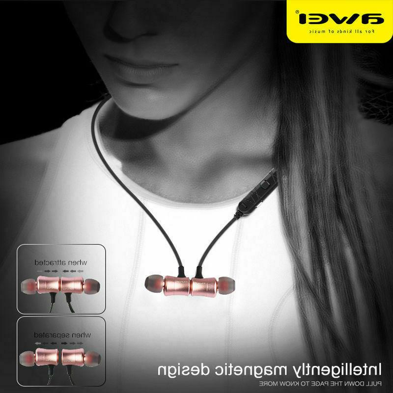 Awei Magnet Sport Headset Stereo Earbuds