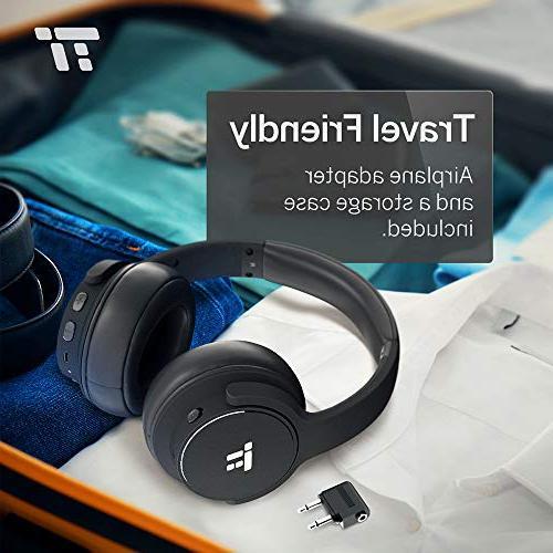 1ae6b6aee46869 TaoTronics Active Noise Cancelling Bluetooth Headphones HiFi Stereo
