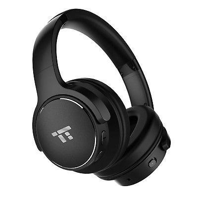 TaoTronics Active Noise Cancelling Bluetooth Headphones HiFi