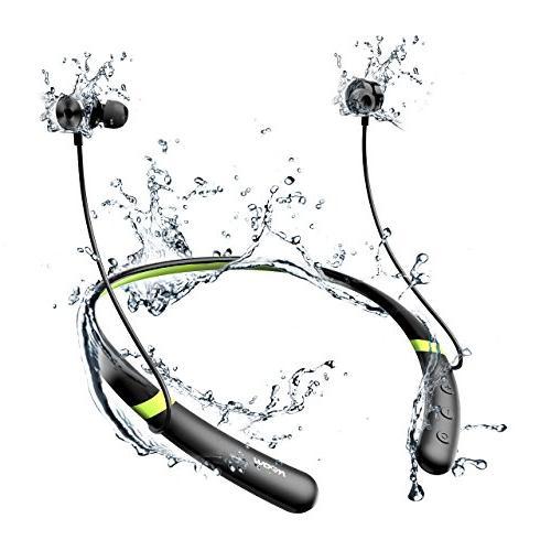 Mpow Bluetooth V4.2 Bluetooth Neckband Sports Headphones, Earbuds