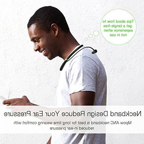 Mpow Bluetooth Neckband Waterproof Sports Headphones,