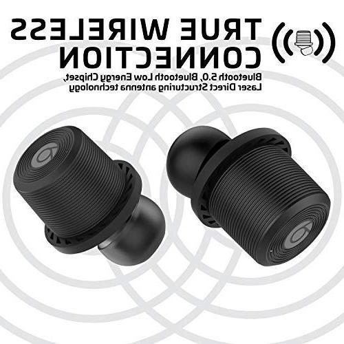 Rowkin Ascent True Wireless Earphones Case. Deep Headset & Reduction