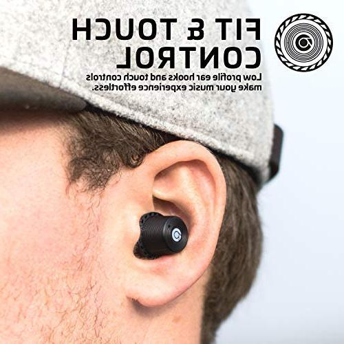 Rowkin Charge Wireless Earbuds Hours, Bluetooth Earphones Case. Deep Headset & Noise Reduction for & iPhone