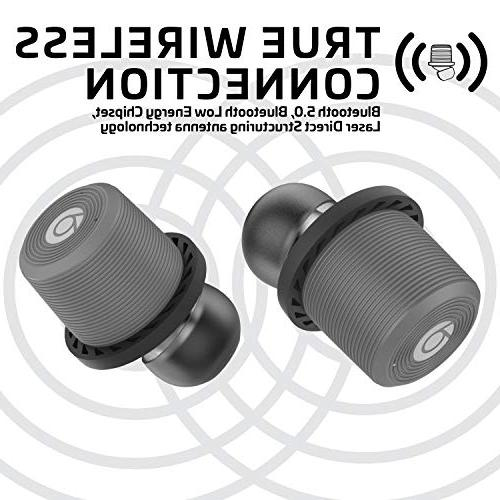Rowkin Ascent Micro Hours, Headphones Case Deep Bass Mic Pairing Reduction for Samsung iPhone