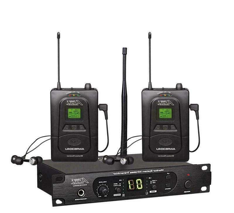 Audio2000'S Awm6305U In-Ear Audio Monitor System