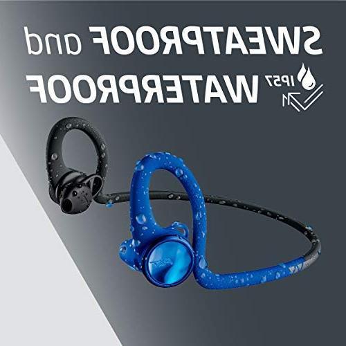 Plantronics BackBeat FIT Wireless Headphones, Sweatproof Waterproof in Workout Headphones,