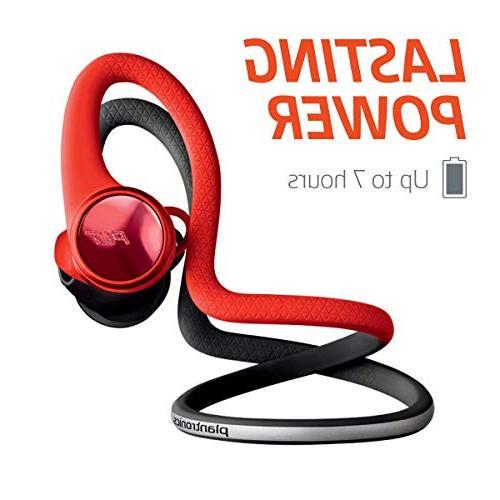 Plantronics BackBeat FIT Wireless Waterproof in Workout Headphones, Black